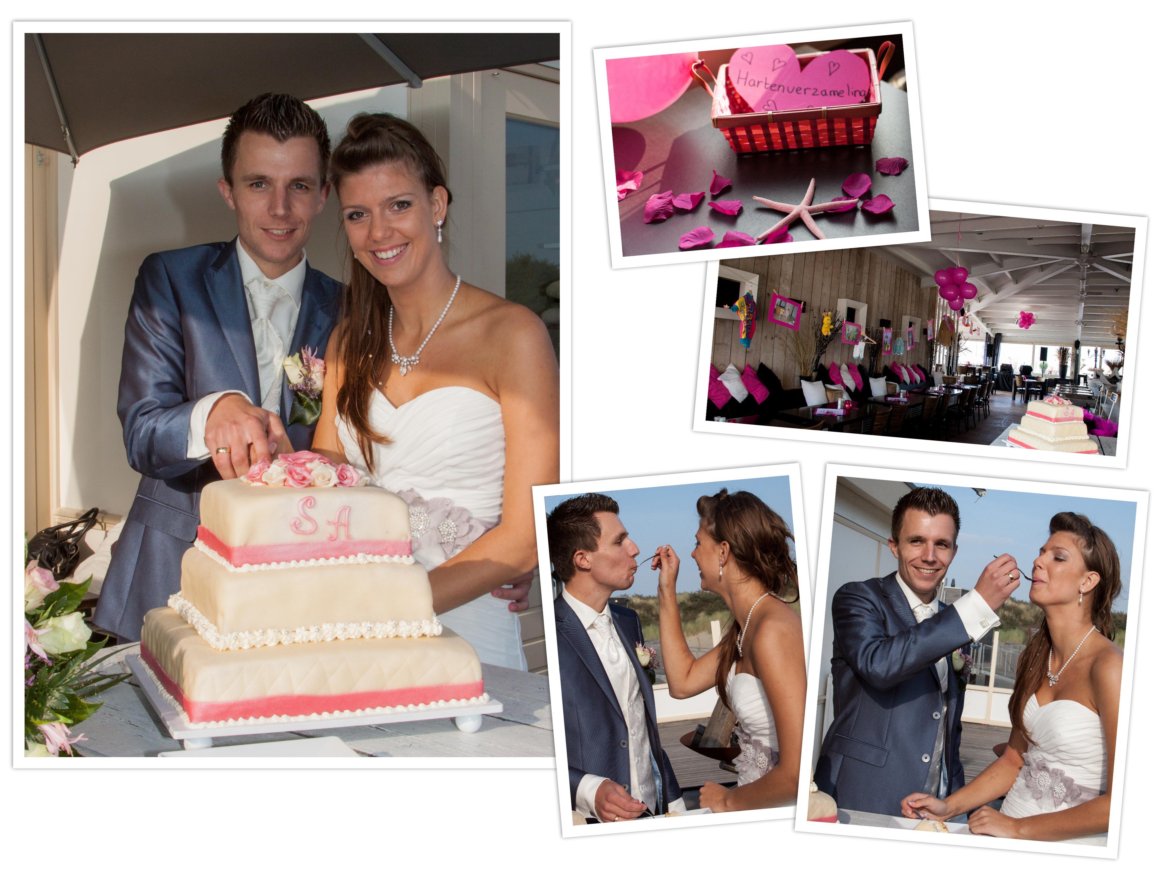 verrassing ceremoniemeester op trouwkaart