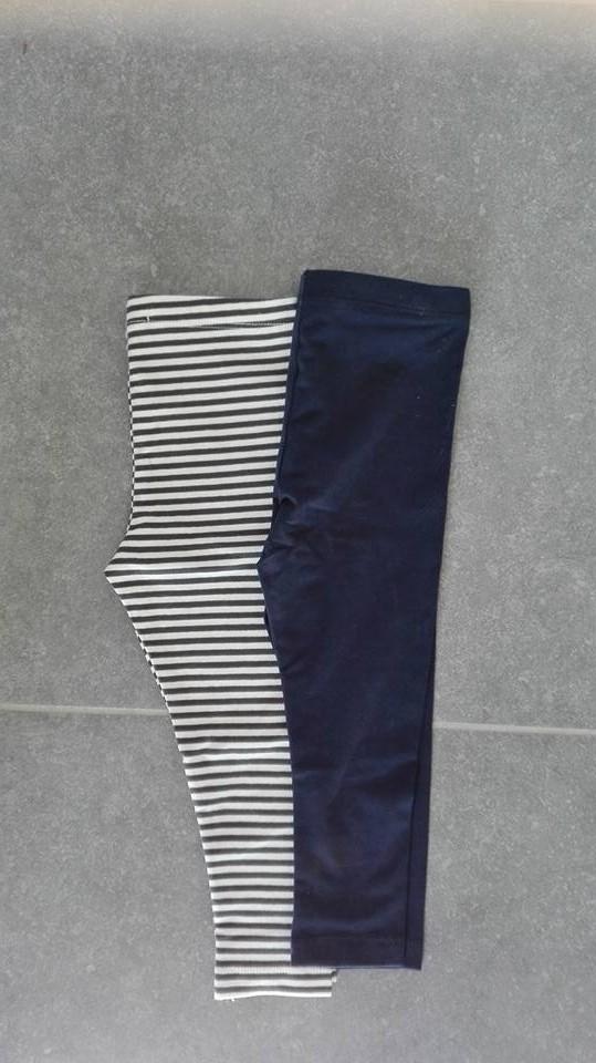 Twee leggings van de Hema, altijd goed om te hebben.